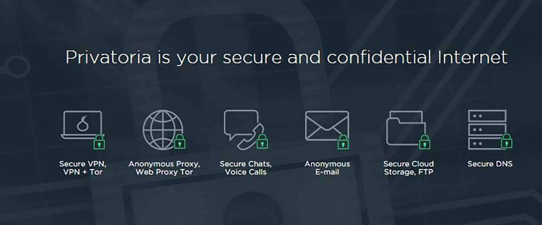 DC Deals: Privatoria VPN - Lifetime Subscription