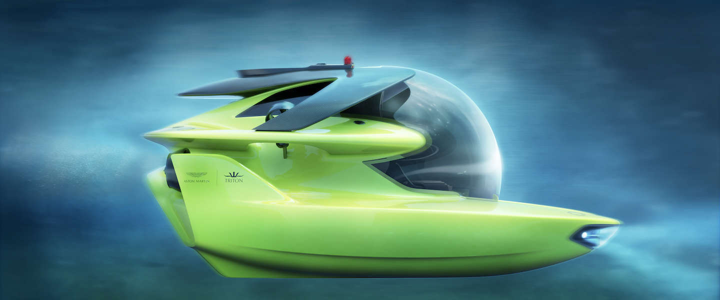 Aston Martin project Neptune, een limited edition duikboot