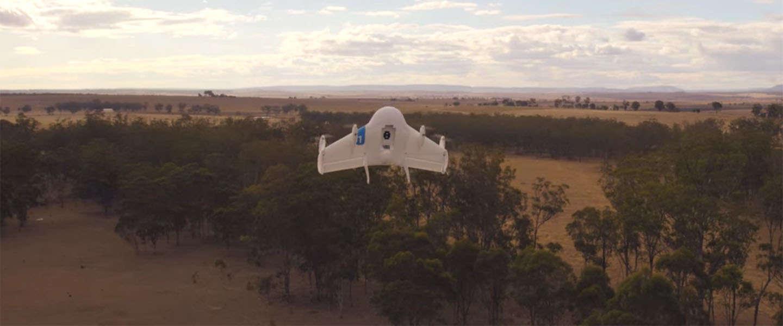 Alphabet krijgt groen licht voor het testen met bezorg-drones