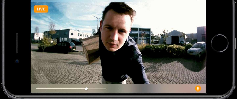 Deurbel van Nederlands bedrijf heeft primeur met Apple HomeKit ondersteuning
