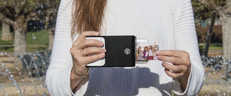 Print polaroid foto's direct uit vanaf je smartphone met de Prynt Case