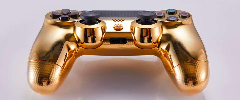 Deze bizarre PS4-controller kost 14.000 dollar: #worthit?