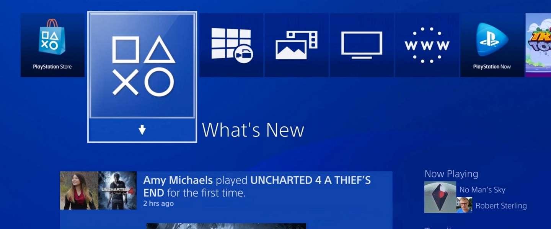 Playstation 4 krijgt grootste software-update ooit