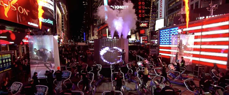 PUMA stunt in New York City