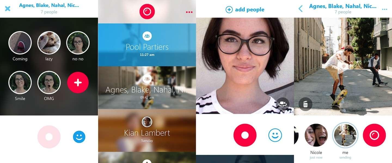 Skype komt met nieuwe App: Qik Skype