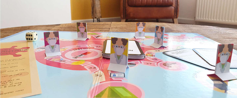Speel nu ook het Quarantaine bordspel en versla het virus