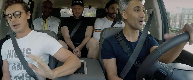 Nieuw seizoen Queer Eye vanaf vandaag op Netflix