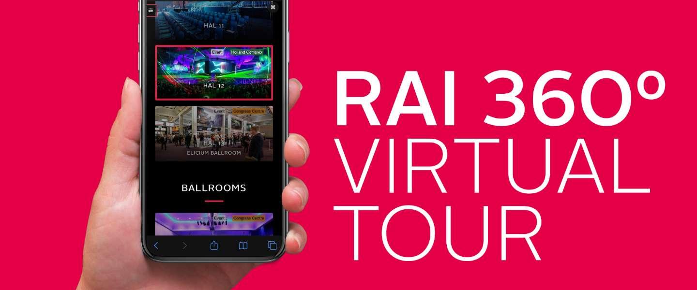 RAI Amsterdam nu virtueel te bezoeken