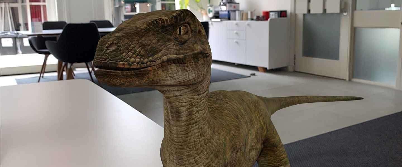 Nu ook dinosaurussen uit Jurassic World in 3D via Google