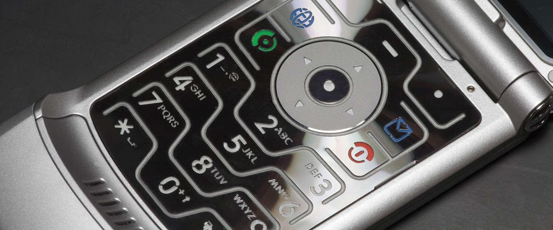 Komt Motorola met een nieuwe versie van de Razr flip phone?