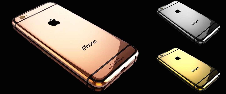 Dit bedrijf zet miljoenen om door iPhones te voorzien van een laagje 24-karaats goud