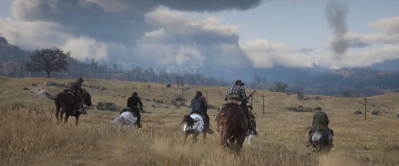 Eerste gameplaybeelden Red Dead Redemption 2 maken veel los