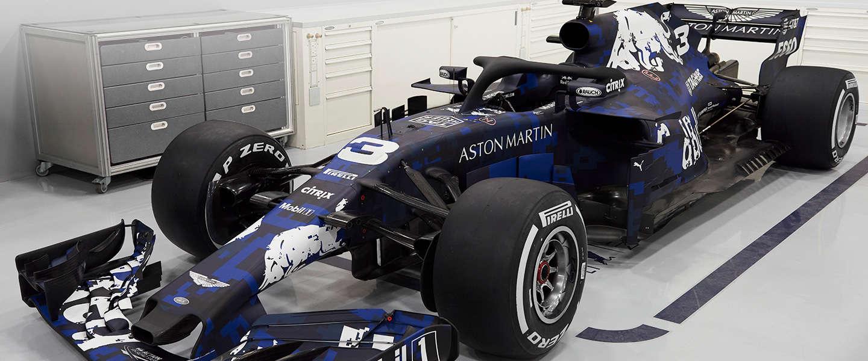 Dit is de nieuwe Formule 1 wagen voor Max Verstappen en Daniel Ricciardo