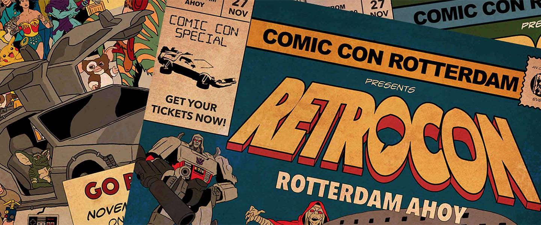 Comic Con terug in Rotterdam: RetroCon