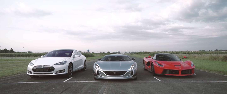 De snelste elektrische auto ter wereld: Rimac Concept_One