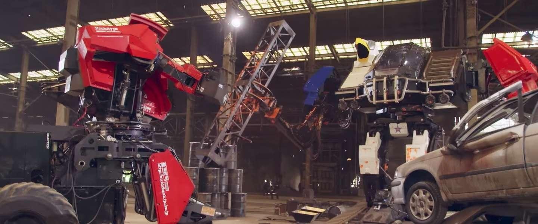 Kijk het grote robotduel tussen de VS en Japan - wie wint?