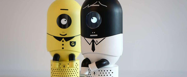 Deze robot laat je een goede houding aannemen