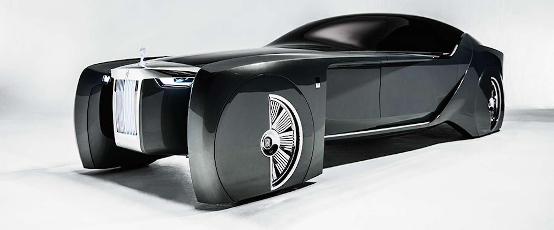 Een kijkje in de futuristische Rolls-Royce 103EX Concept