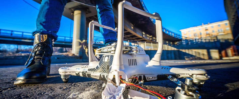 Video: drones zijn nog niet klaar om de post te bezorgen