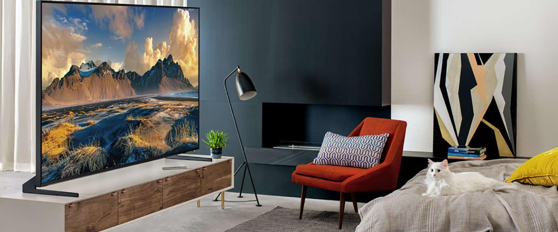 Eerste 8K Samsung QLED TV's gaan vanaf oktober in de verkoop