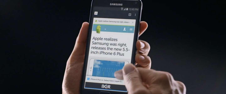 Apple's grote iPhones zijn een grote imitatie