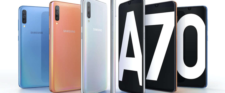 Samsung Galaxy A70, het betaalbare alternatief