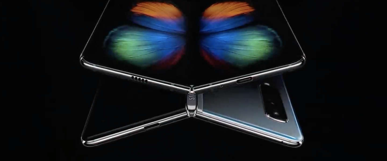 Vouwbare Galaxy Fold nu écht in de winkels volgens Samsung