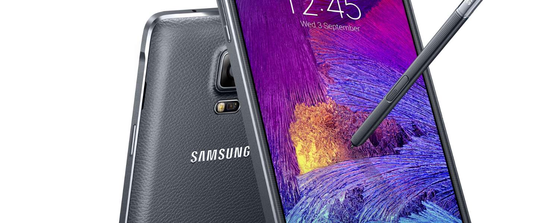 Ontmoet de Samsung Galaxy Note 4, phablet met sterallures