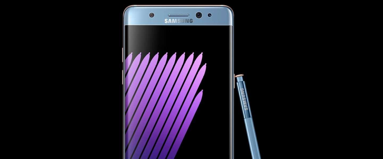 Nieuwe Samsung Galaxy Note 7, niet groter maar wel een stuk handiger