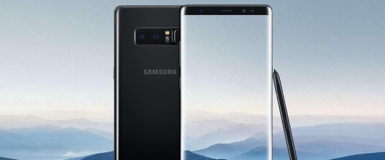 De Samsung Galaxy Note 8 is vanaf vandaag verkrijgbaar