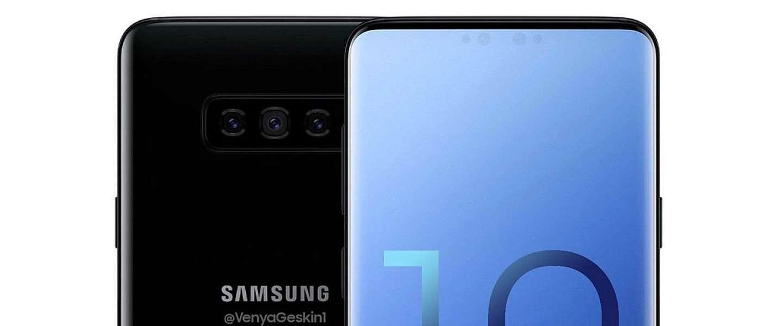 Samsung doet alles om een notch-vrije Galaxy S10 te gaan maken