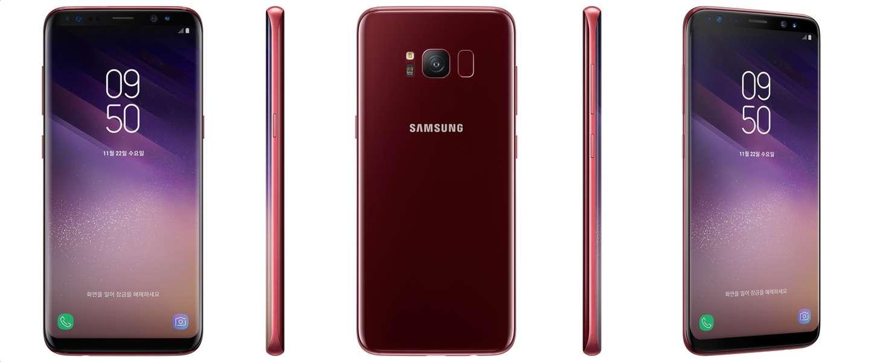 Komt deze mooie dieprode Samsung Galaxy S8 ook naar Nederland?
