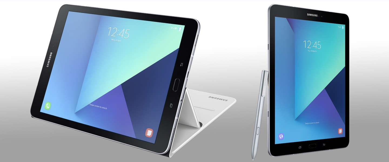 Samsung gaat achter Apple's markt aan met de Galaxy Tab S3