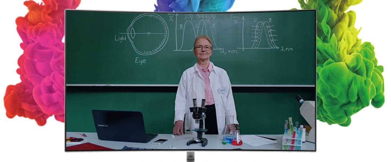 Samsung maakt app voor tv's om kleurenblinde mensen te helpen