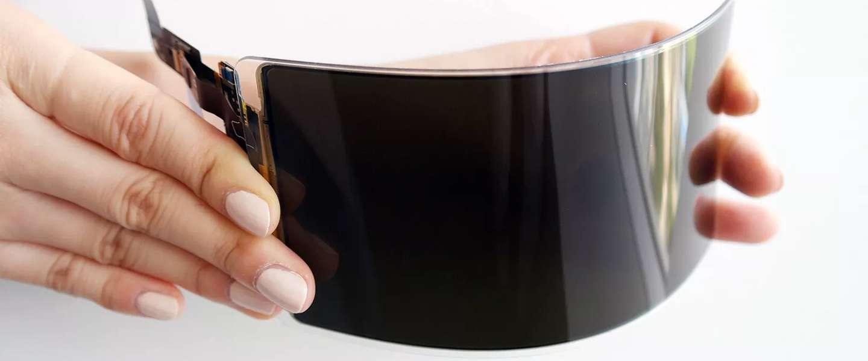 Samsung claimt onbreekbaar smartphone scherm klaar te hebben