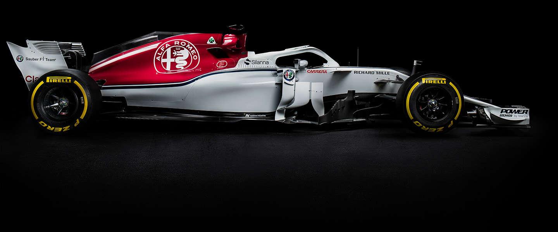 Alfa Romeo Sauber F1 Team onthult de C37