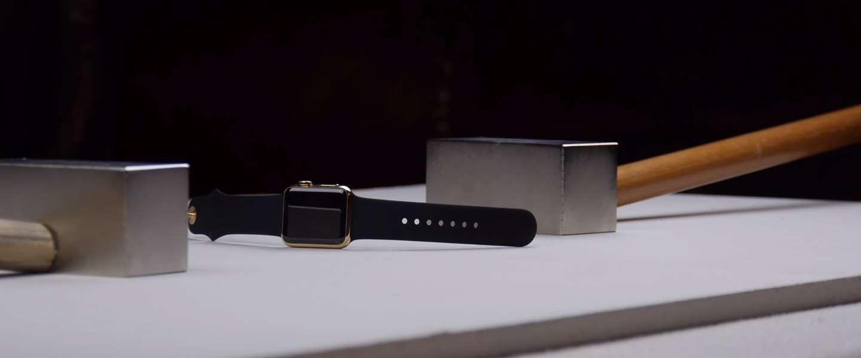 Zo maak je een gouden Apple Watch van 10.000 dollar kapot
