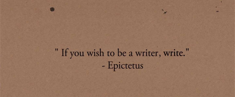 Hulp voor iedereen die ooit een boek wil schrijven
