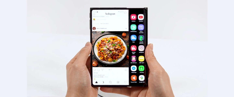 Van vouwen naar schuiven met de nieuwe Samsung-schermen