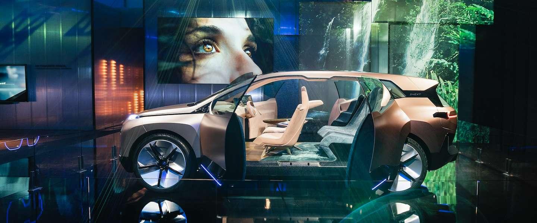 BMW Vision iNEXT: de toekomst van autorijden