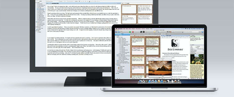 DC Deals: Scrivener 2 & Learn Scrivener Fast