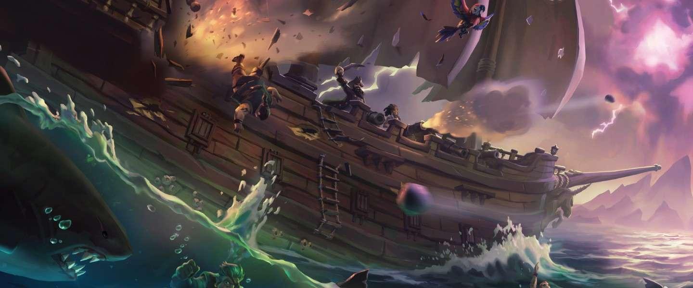 Sea of Thieves: een grote schatkist met weinig waardevols er in