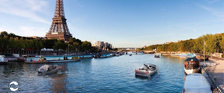 SeaBubbles: milieuvriendelijke, vliegende watertaxi's komen eraan