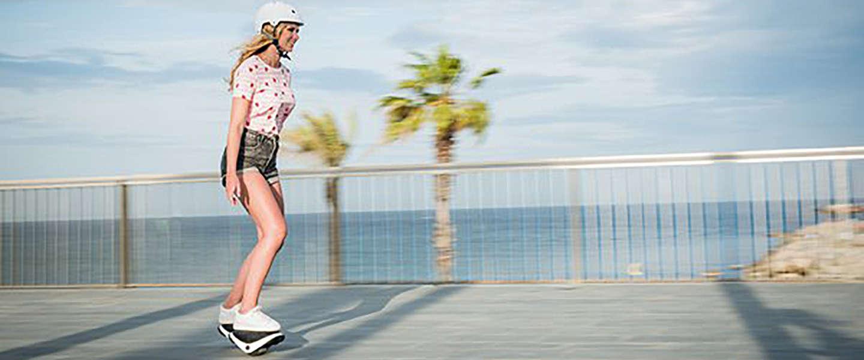 Segway lanceert elektrische rollende schoenen!