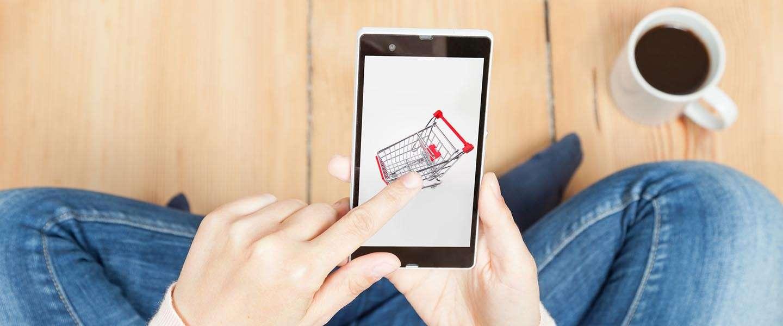 Google begint met testen van een koopknop op mobiel