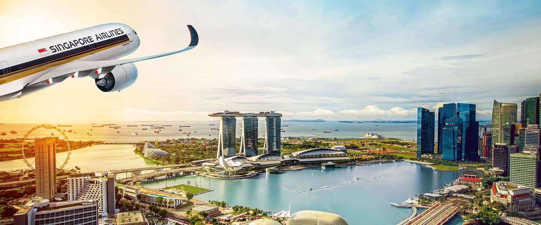 Creatieve campagnes voor nieuwe A350 van Singapore Airlines