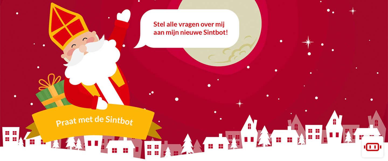 Vragen over Sinterklaas? Stel ze aan Sintbot