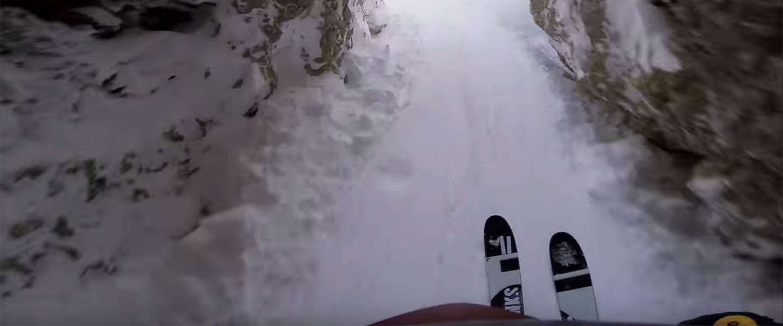 Must see: De winnaar van de Line of the Winter contest van GoPro