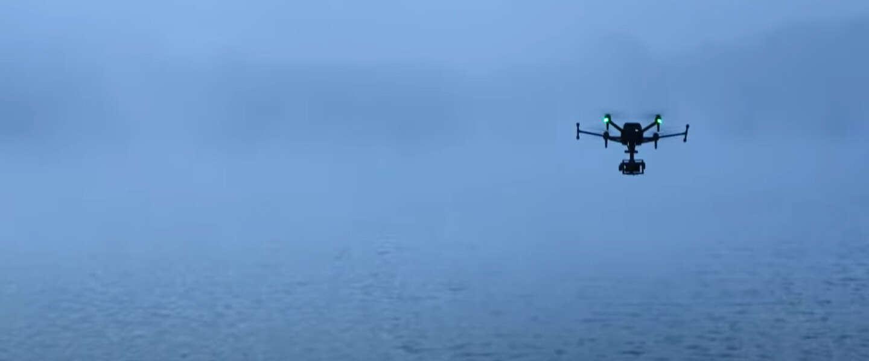 Dit is wat je doet met een drone van 9.000 euro