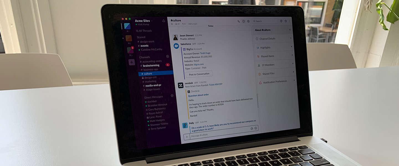 Slack staat bij Microsoft op lijst met 'verboden en ontmoedigde' software